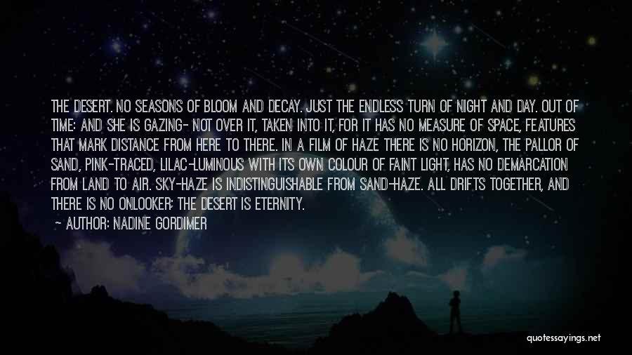 The Desert Sky Quotes By Nadine Gordimer