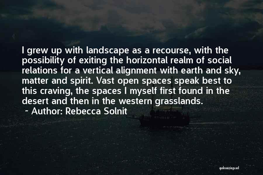 The Desert Sky Quotes By Rebecca Solnit