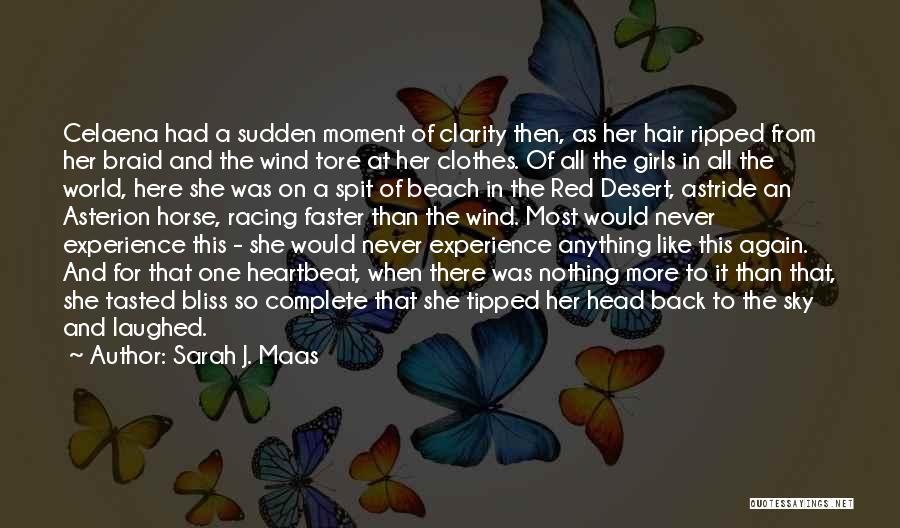 The Desert Sky Quotes By Sarah J. Maas