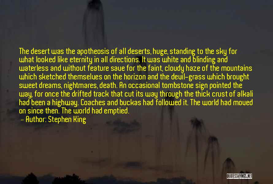 The Desert Sky Quotes By Stephen King