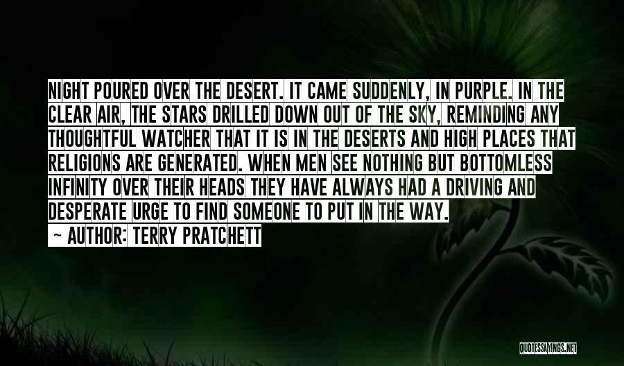 The Desert Sky Quotes By Terry Pratchett
