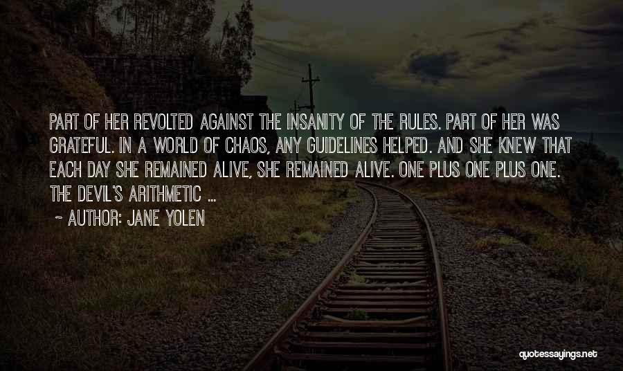 The Devil's Arithmetic Quotes By Jane Yolen