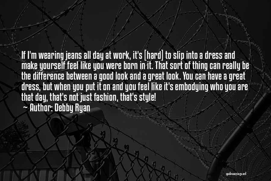 The Difference Between Good And Great Quotes By Debby Ryan