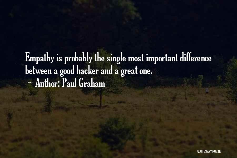 The Difference Between Good And Great Quotes By Paul Graham
