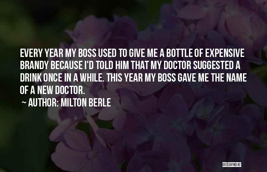 The Doctor Christmas Quotes By Milton Berle