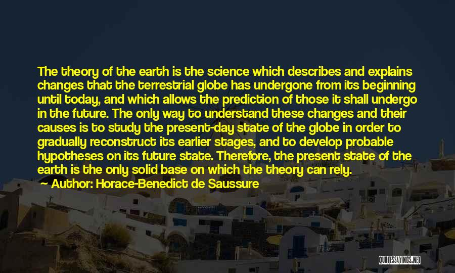 The Earth Day Quotes By Horace-Benedict De Saussure