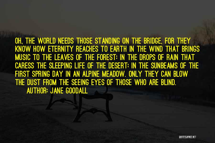 The Earth Day Quotes By Jane Goodall