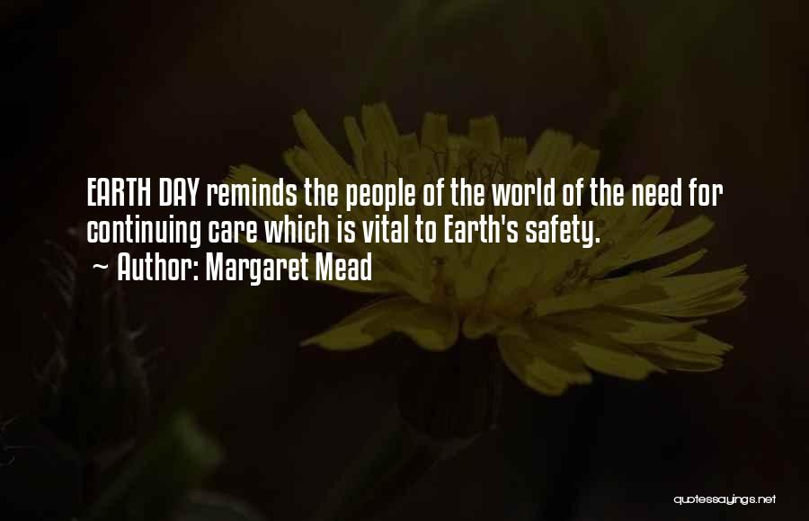 The Earth Day Quotes By Margaret Mead