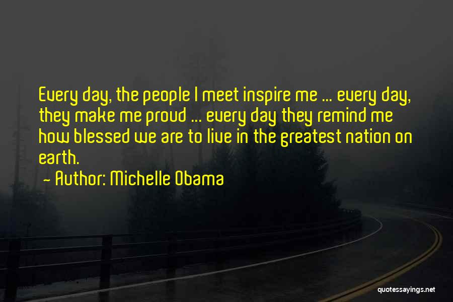 The Earth Day Quotes By Michelle Obama