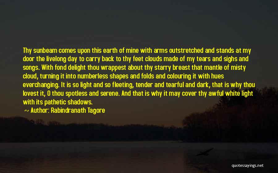 The Earth Day Quotes By Rabindranath Tagore