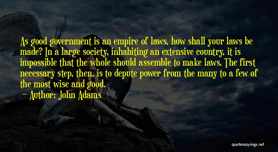 The Empire Quotes By John Adams