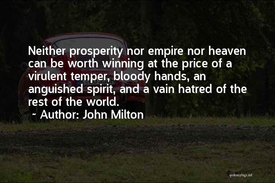 The Empire Quotes By John Milton