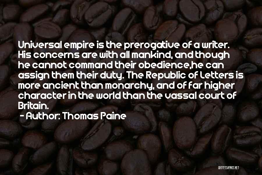 The Empire Quotes By Thomas Paine