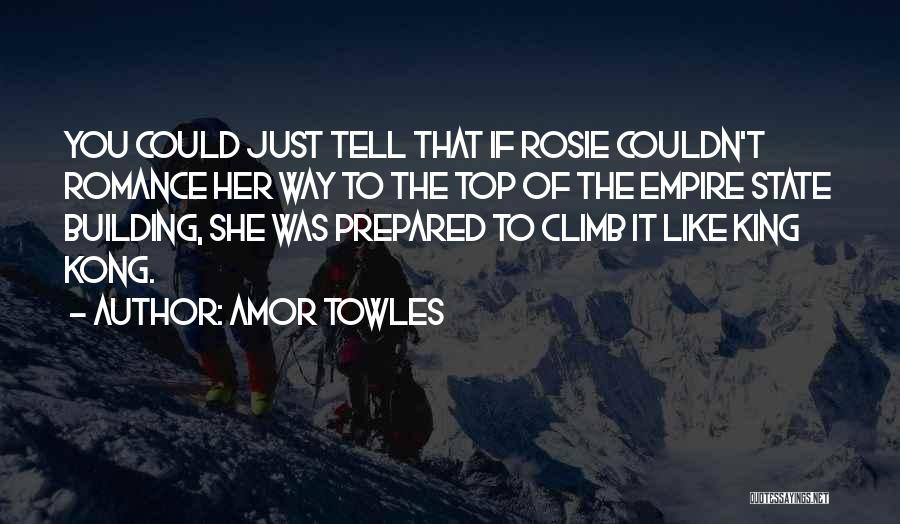 The Empire State Building Quotes By Amor Towles