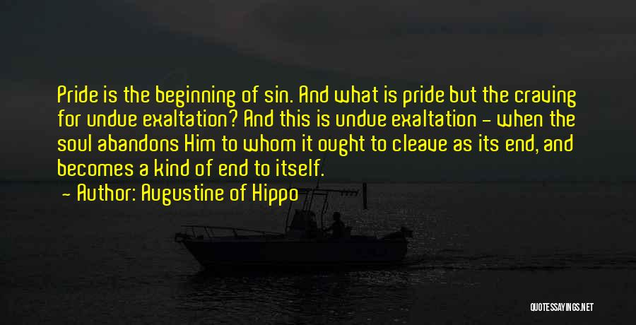 The End Beginning Quotes By Augustine Of Hippo