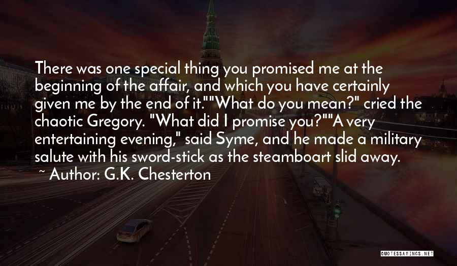 The End Beginning Quotes By G.K. Chesterton