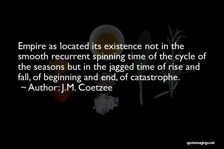 The End Beginning Quotes By J.M. Coetzee