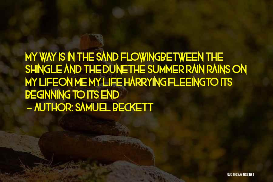 The End Beginning Quotes By Samuel Beckett