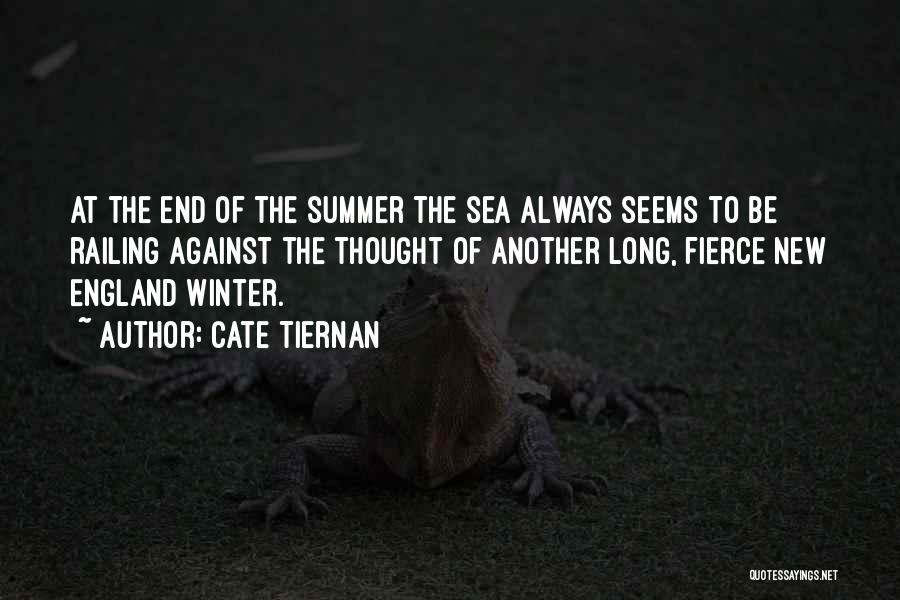 The End Of The Summer Quotes By Cate Tiernan