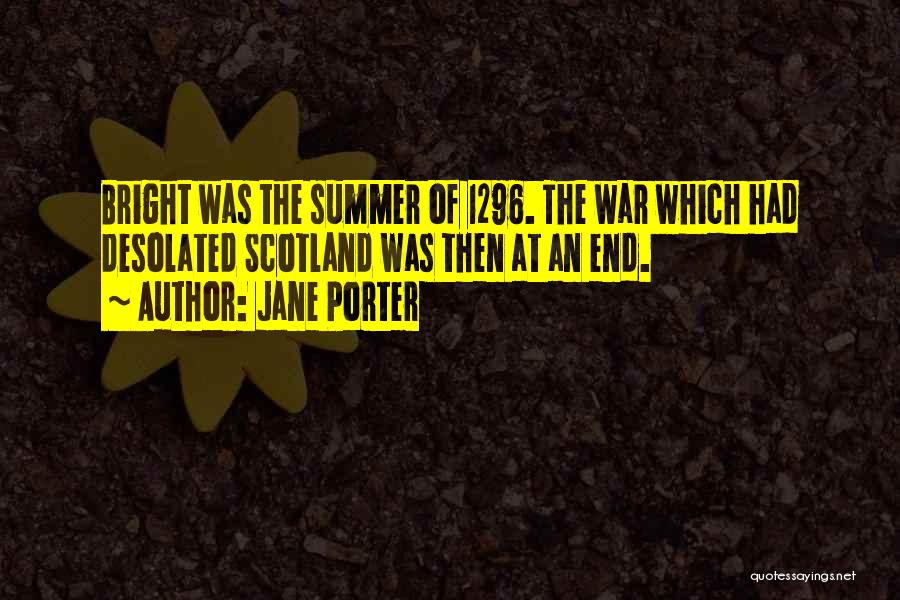 The End Of The Summer Quotes By Jane Porter