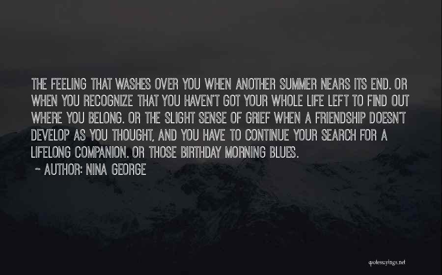 The End Of The Summer Quotes By Nina George