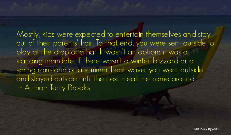 The End Of The Summer Quotes By Terry Brooks