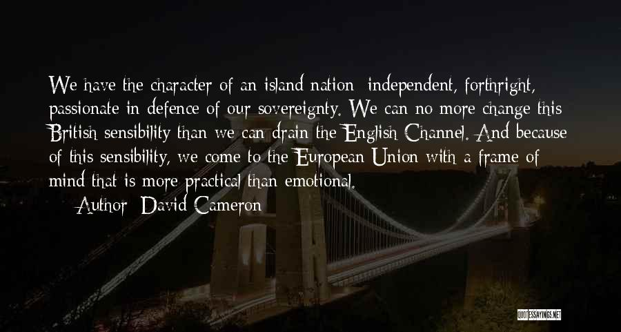The English Channel Quotes By David Cameron