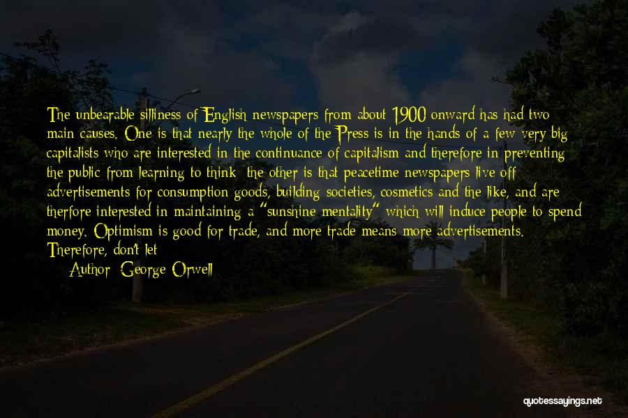 The English Channel Quotes By George Orwell