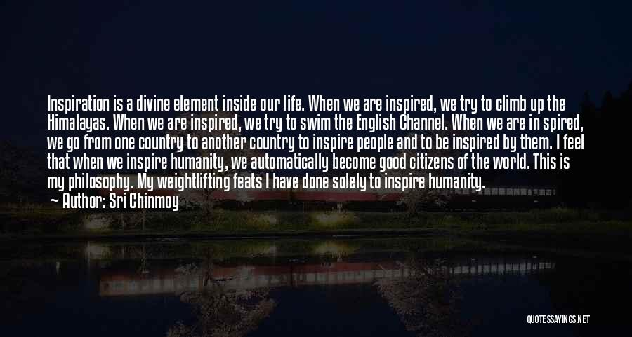 The English Channel Quotes By Sri Chinmoy