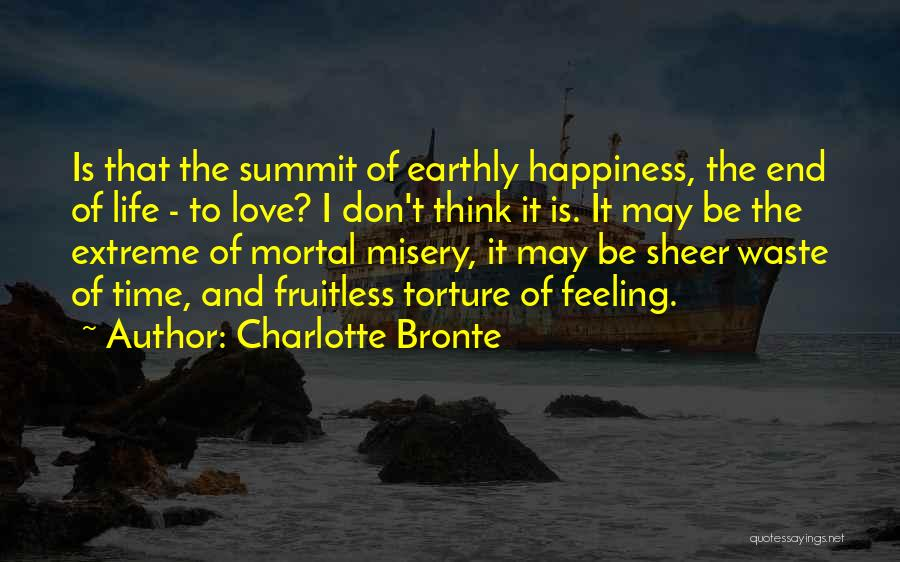The Feeling Of Happiness Quotes By Charlotte Bronte