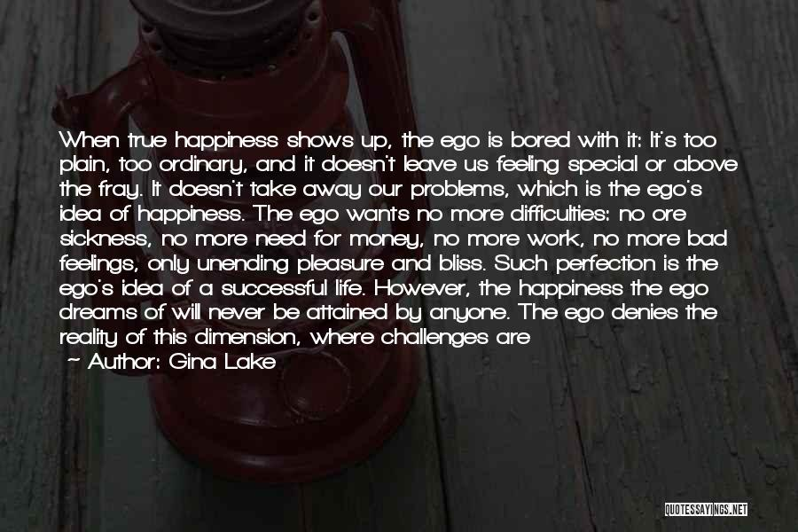 The Feeling Of Happiness Quotes By Gina Lake