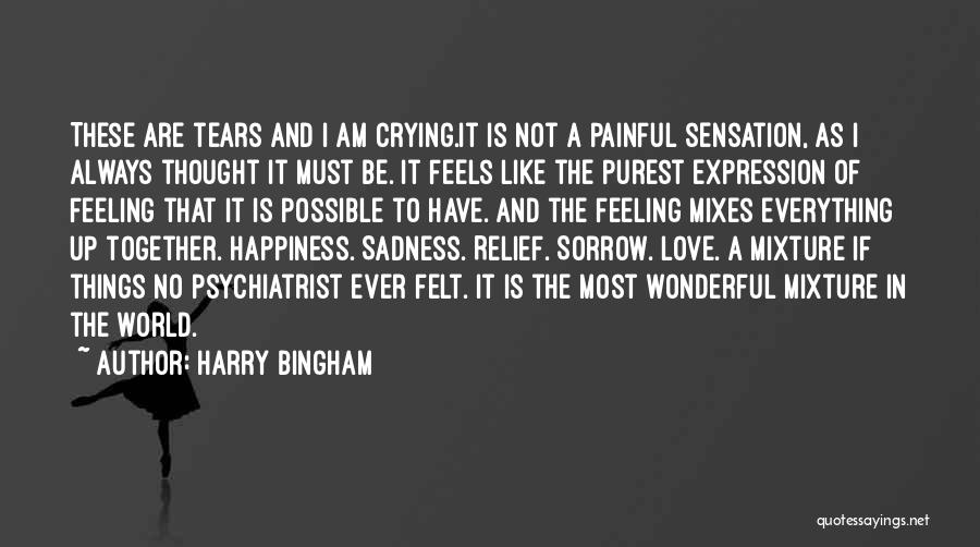 The Feeling Of Happiness Quotes By Harry Bingham