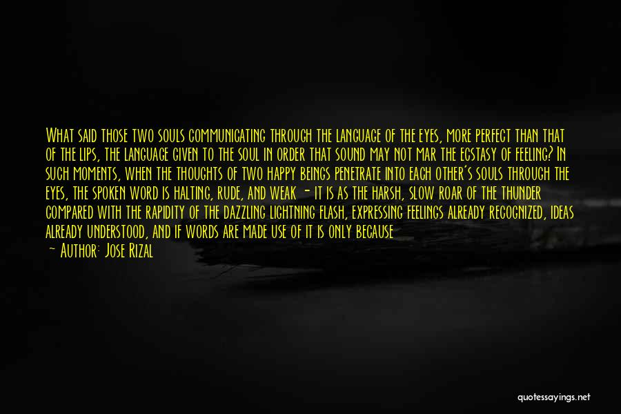 The Feeling Of Happiness Quotes By Jose Rizal