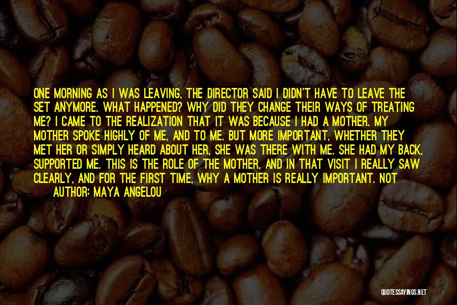 The First Time We Met Love Quotes By Maya Angelou