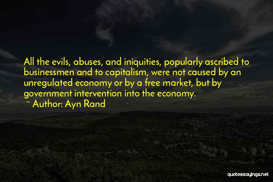 The Free Market Economy Quotes By Ayn Rand