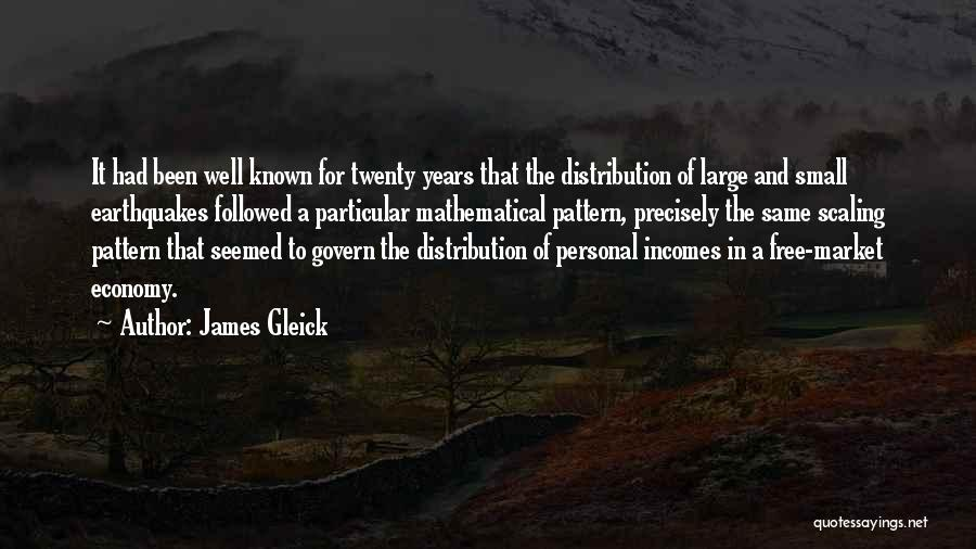 The Free Market Economy Quotes By James Gleick