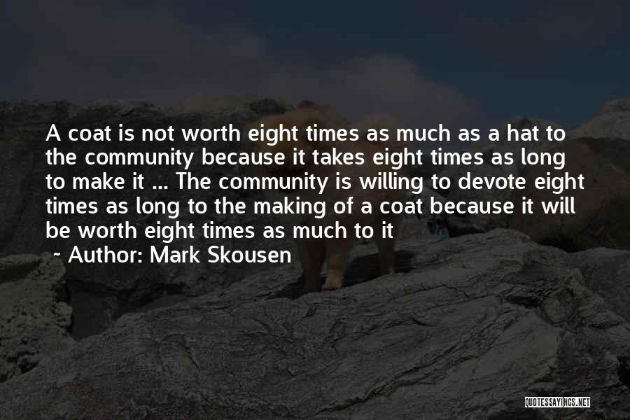 The Free Market Economy Quotes By Mark Skousen