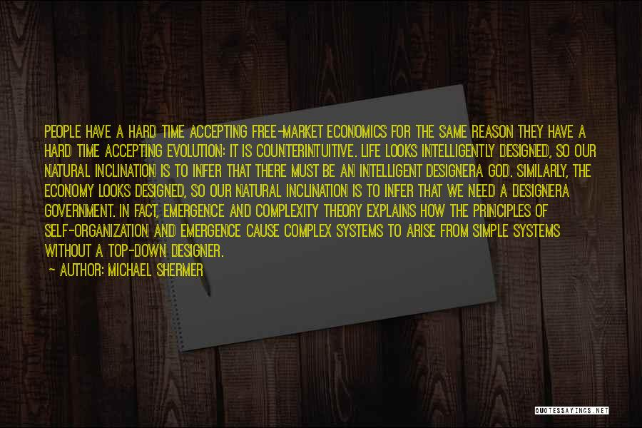 The Free Market Economy Quotes By Michael Shermer