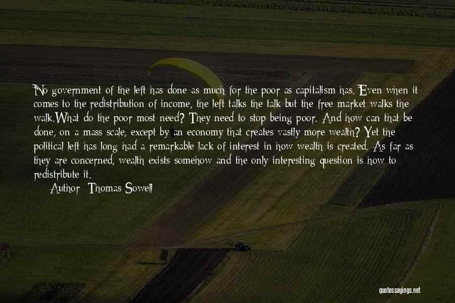 The Free Market Economy Quotes By Thomas Sowell