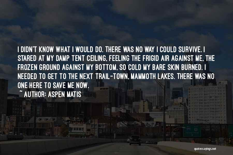 The Frozen Ground Quotes By Aspen Matis