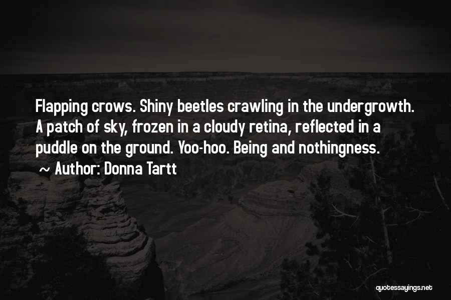 The Frozen Ground Quotes By Donna Tartt