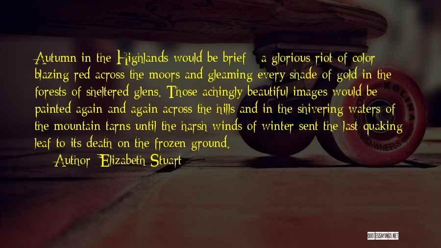 The Frozen Ground Quotes By Elizabeth Stuart