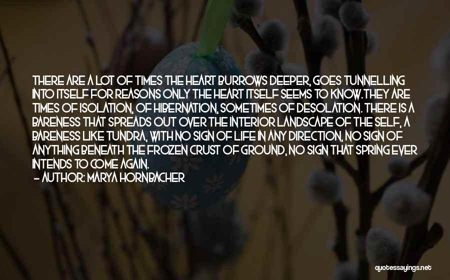 The Frozen Ground Quotes By Marya Hornbacher