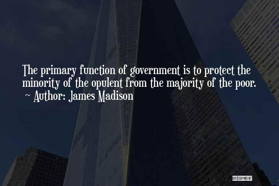 The Function Of Government Quotes By James Madison