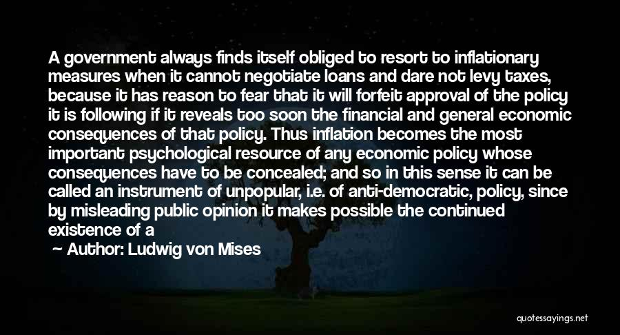 The Function Of Government Quotes By Ludwig Von Mises