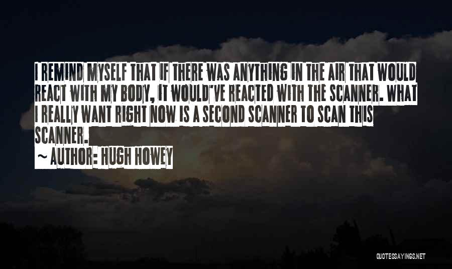 The Funny Quotes By Hugh Howey