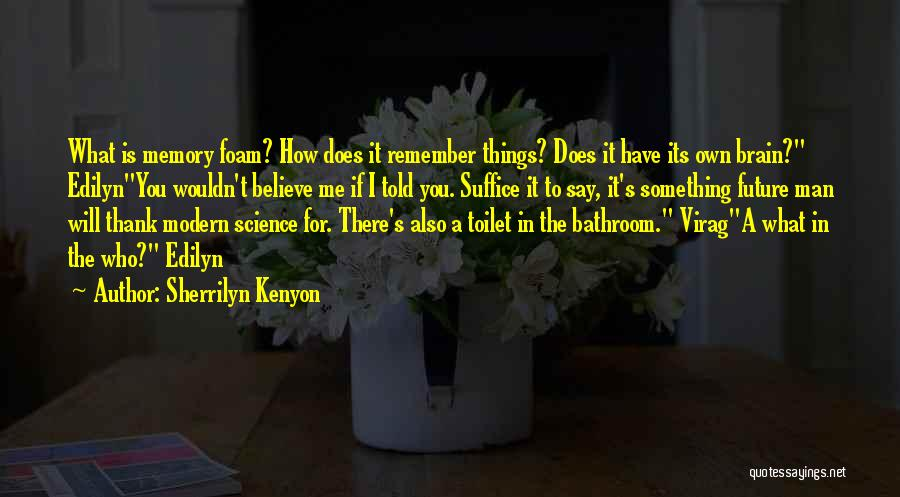 The Future Funny Quotes By Sherrilyn Kenyon