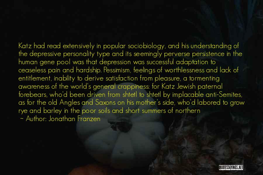 The Gene Pool Quotes By Jonathan Franzen