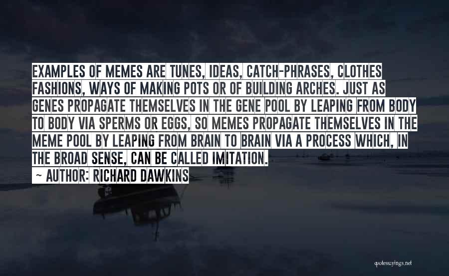 The Gene Pool Quotes By Richard Dawkins