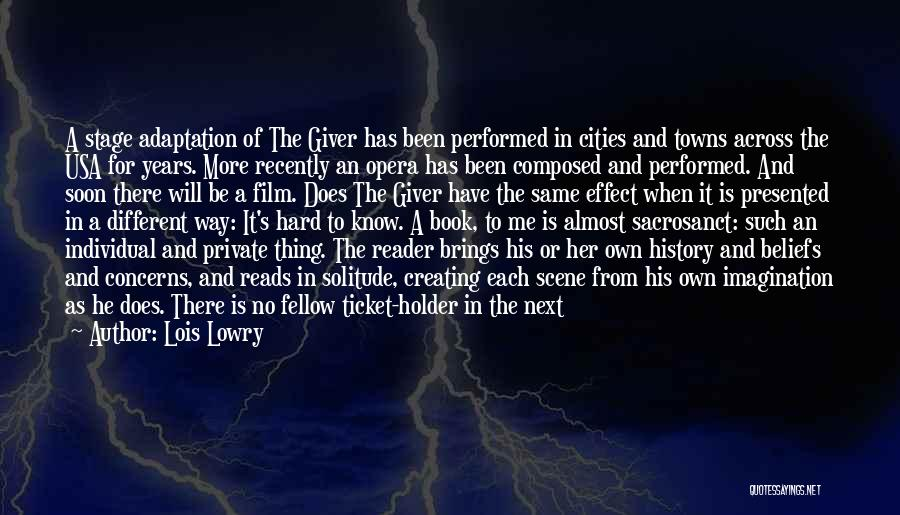 The Giver Movie Best Quotes By Lois Lowry